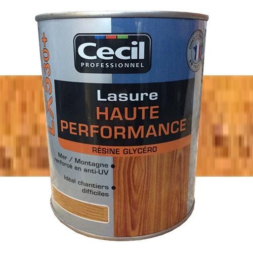 CECIL LX530+ Lasure Haute Performance Châtaignier