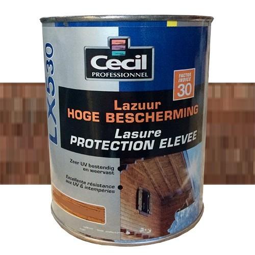 CECIL LX530 Lasure Protection Élevée Noyer