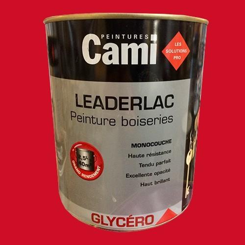 cami peinture glyc ro leaderlac rouge carlate pas cher en ligne. Black Bedroom Furniture Sets. Home Design Ideas