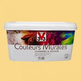 Peinture V33 Couleurs Murales Mat Paille