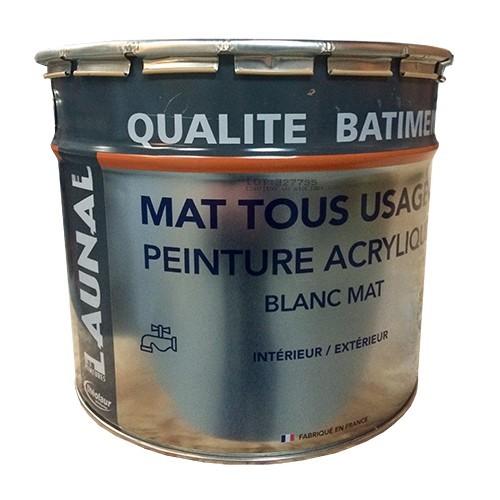 launal peinture acrylique mat tous usages pas cher en ligne. Black Bedroom Furniture Sets. Home Design Ideas
