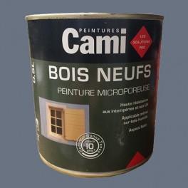 CAMI Peinture Glycéro BOIS NEUFS Gris titane