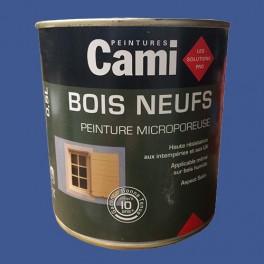 CAMI Peinture Glycéro BOIS NEUFS Bleu outremer