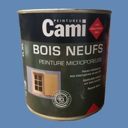 CAMI Peinture Glycéro BOIS NEUFS Bleu provence