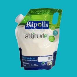 RIPOLIN Peinture Attitude Satin 1L Bora-Bora