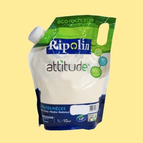 RIPOLIN Peinture Attitude Satin 1L Orge