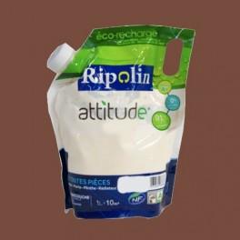 RIPOLIN Peinture Attitude Satin 1L Cappuccino