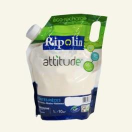 RIPOLIN Peinture Attitude Satin 1L Ecru