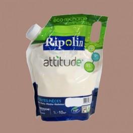 RIPOLIN Peinture Attitude Satin 1L Taupe