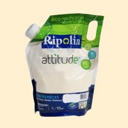 RIPOLIN Peinture Attitude Satin 1L Ivoire
