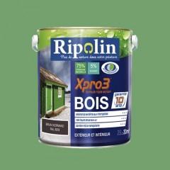 RIPOLIN Peinture Xpro3 Bois Vert olivier