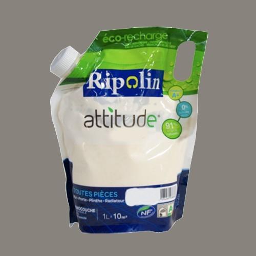 RIPOLIN Peinture Attitude Satin 1L Gris granit