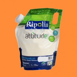 RIPOLIN Peinture Attitude Satin 1L Mandarine