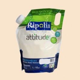 RIPOLIN Peinture Attitude Satin 1L Ficelle