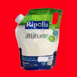 RIPOLIN Peinture Attitude Satin 1L Cerise