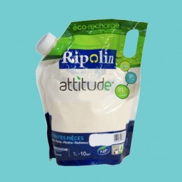RIPOLIN Peinture Attitude Satin 1L Turquoise