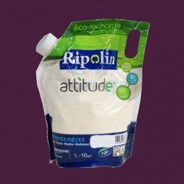 RIPOLIN Peinture Attitude Satin 1L Myrtille