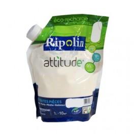 RIPOLIN Peinture Attitude Satin 1L Blanc