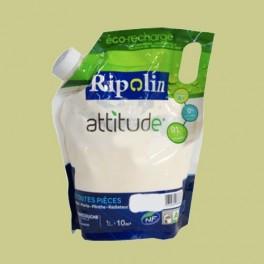 RIPOLIN Peinture Attitude Satin 1L Anis