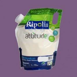 RIPOLIN Peinture Attitude Satin 1L Améthyste