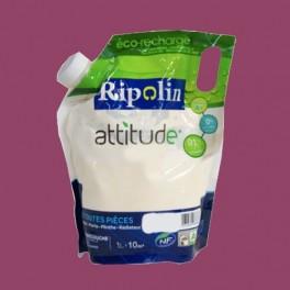 RIPOLIN Peinture Attitude Satin 1L Rose glamour