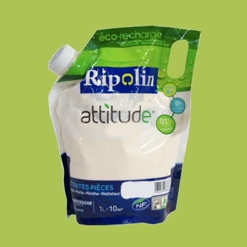 RIPOLIN Peinture Attitude Satin 1L Vert energie