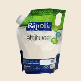 RIPOLIN Peinture Attitude Satin 1L Blanc cassé