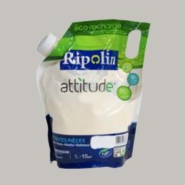 RIPOLIN Peinture Attitude Satin 1L Gris voluptueux