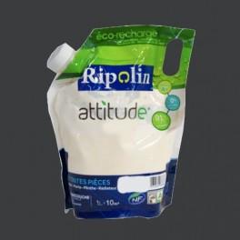 RIPOLIN Peinture Attitude Satin 1L Anthracite