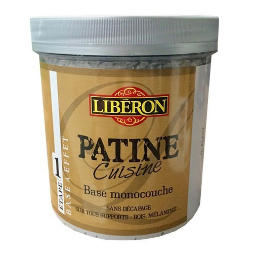 LIBERON Patine Cuisine Base Monocouche (Etape 1) 1L Graphite