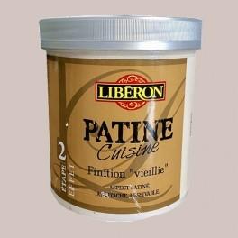 """LIBERON Patine Cuisine Finition """"Vieillie"""" (Etape 2) 1L Galet"""