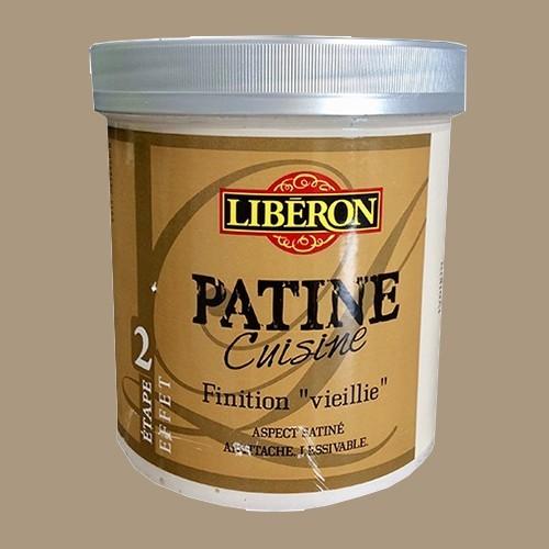 """LIBERON Patine Cuisine Finition """"Vieillie"""" (Etape 2) 1L Flanelle"""