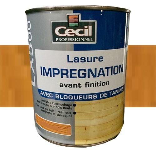 CECIL LX500 Lasure d'imprégnation Bois clair