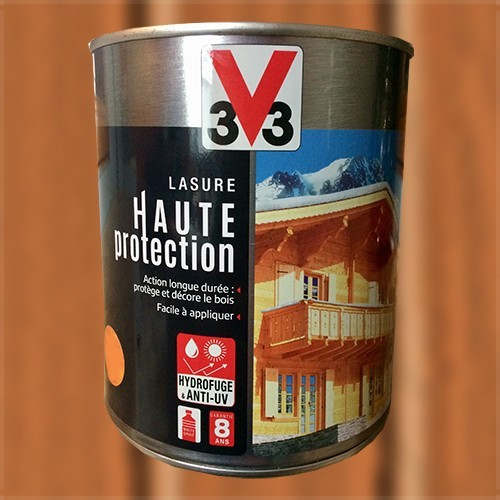 V33 Lasure Haute Protection 8ans Pin d'Orégon