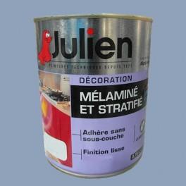 Peinture acrylique Mélaminé et Stratifié Julien Sel Marin 0,75L Brillant