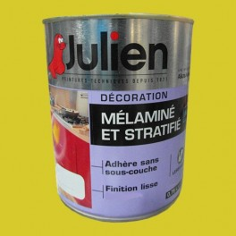 Peinture acrylique Mélaminé et Stratifié Julien Anis 0,75L Satin