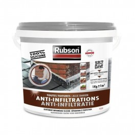 RUBSON Anti-Infiltrations 100% silicone Gris