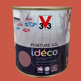 Peinture sol V33 Idéco Terre cuite Satin