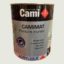 CAMI Peinture Acrylique CAMIMAT Blanc craie