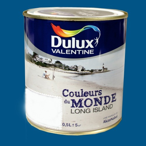 Dulux valentine couleurs du monde long island expression for Dulux valentine couleur du monde