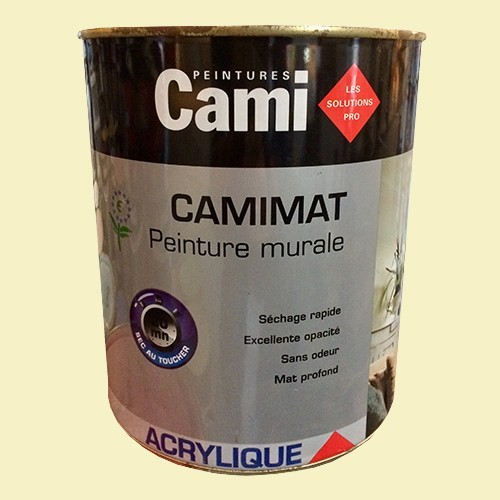 CAMI Peinture Acrylique CAMIMAT Lait d'amande