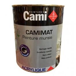 CAMI Peinture Acrylique CAMIMAT Blanc