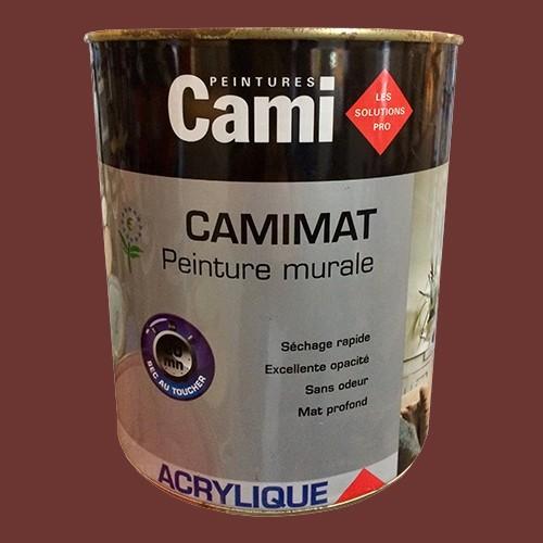 CAMI Peinture Acrylique CAMIMAT Acajou