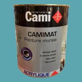 CAMI Peinture Acrylique CAMIMAT Bleu Bosphore