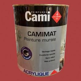 CAMI Peinture Acrylique CAMIMAT Rouge salsa