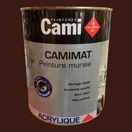 CAMI Peinture Acrylique CAMIMAT Wengé