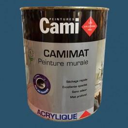 CAMI Peinture Acrylique CAMIMAT Bleu nocturne