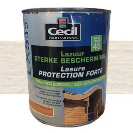 CECIL LX545 Lasure Protection Forte Blanc des Alpes