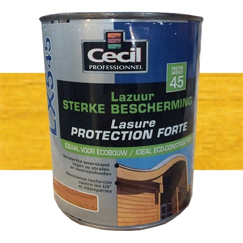 CECIL LX545 Lasure Protection Forte Jaune Catalogne