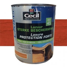 CECIL LX545 Lasure Protection Forte Rouge Basque